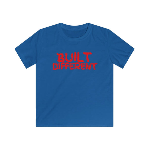 Built Different Kids Softstyle Tee