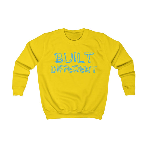 Built Different Kids Sweatshirt