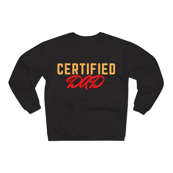 Certified Dad Unisex Crew Neck Sweatshirt
