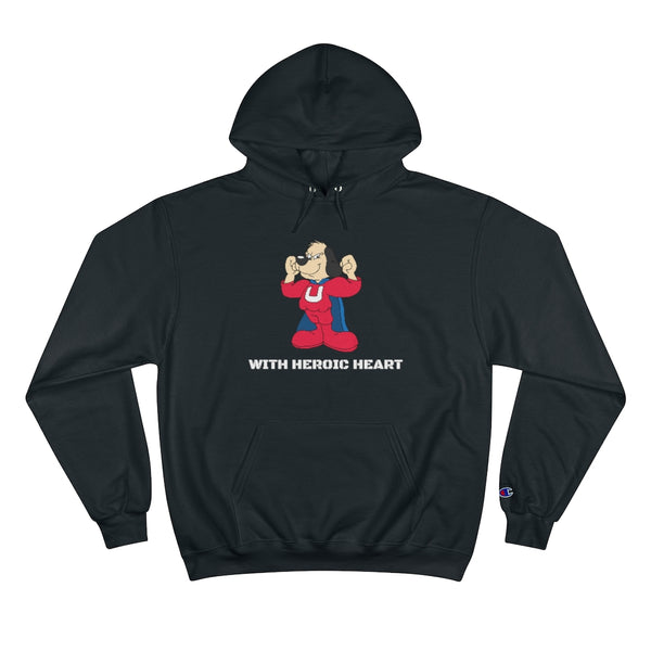 UNDERDOG WITH HEROIC HEART Champion Hoodie