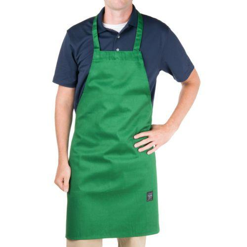 Chef Revival 601NP-GN Bib Apron, Green
