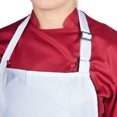 Chef Revival 619BA-WH Bib Apron, White