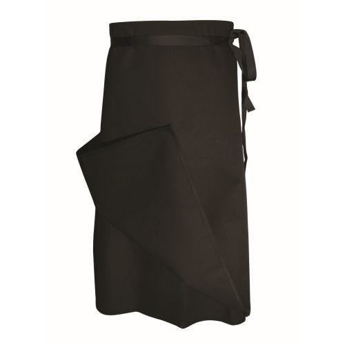 Chef Revival A009BK 4 Sided Bistro Apron, Black