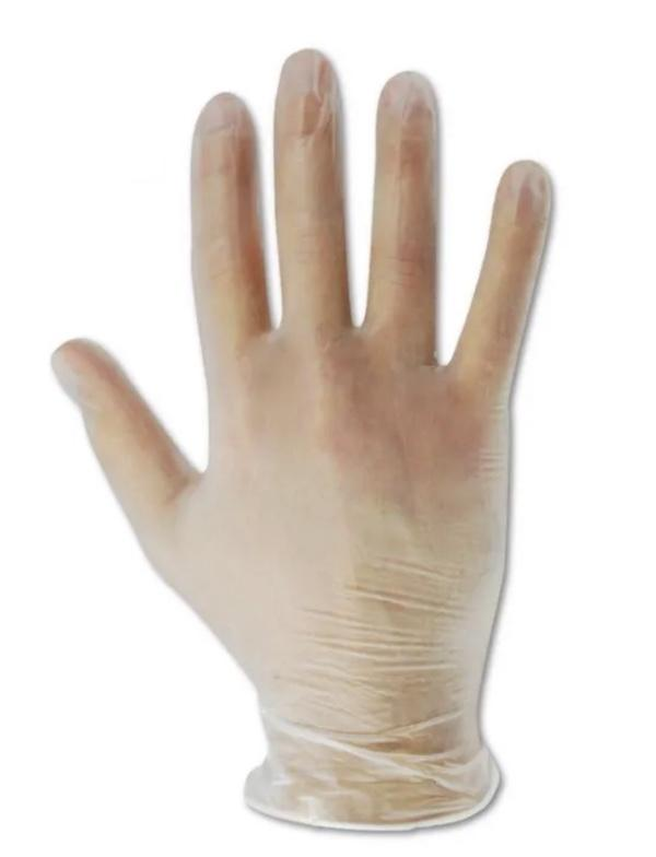 Ansell Dura Touch Vinyl Gloves, Size XL - 1000 per Case