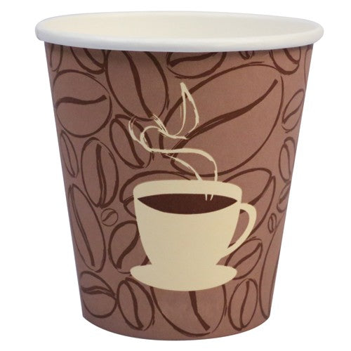 Prime Source 12 Ounce Printed Paper Hot Cup - 1000 per Case