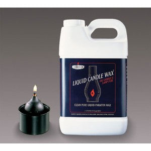 Hollowick Clean Pure Liquid Paraffin Wax for Oil Candles and Lamps - 2 each 2.5 Gallon Jugs per Case - Does NOT Include Burner, Fuel for Burner Only