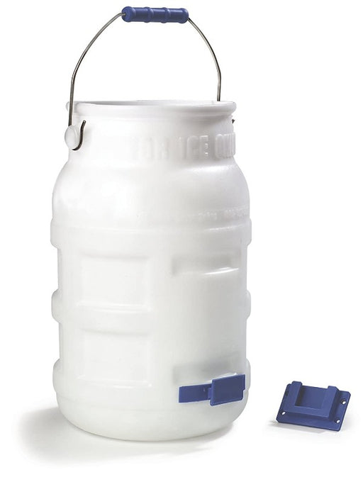 Carlisle White Ice Transport Tote - 2 per Case