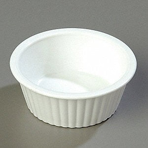 Carlisle Fluted Ramekin, 2 Ounce White - 48 per Case