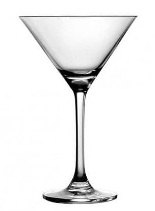 Specialty Glasses Angelina Martini Glass, 9.125 Ounces - 24 per Case