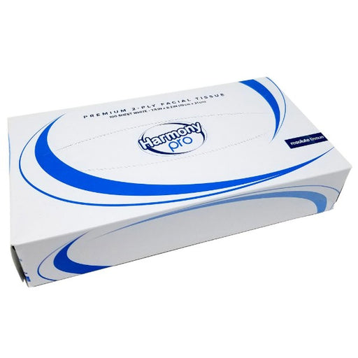 Harmony Pro Facial Tissue - 3000 Tissues per Case