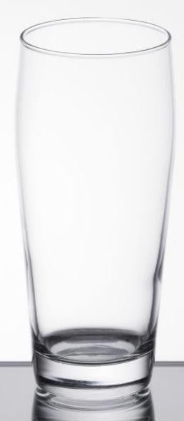Willy Becher Drinking Glass, 16 Ounce - 12 per Case