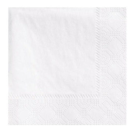 Hoffmaster 2-Ply White Beverage Napkins - 3000 per Case
