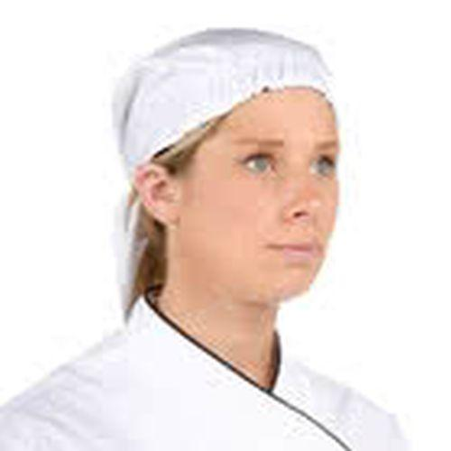 Chef Revival H020HT Scarf Hat, White