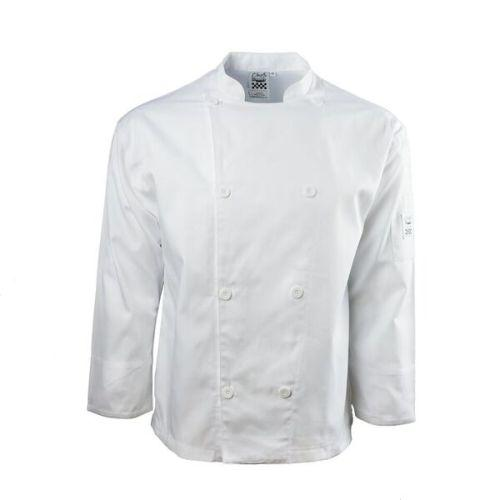 Chef Revival J002-XS Knife & Steel Jacket, White