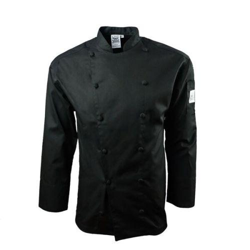 Chef Revival J017BK-4X Cool Crew Jacket, Black