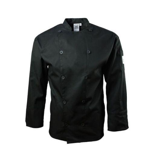 Chef Revival J030BK-3X Traditional Jacket, Black