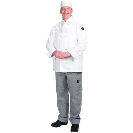 Chef Revival J050 Cool Crew Jacket, White