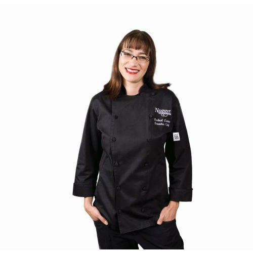 Chef Revival LJ025 Ladies Cuisinier Jacket, Black