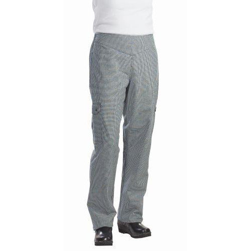 Chef Revival LP001HT Ladies Cargo Pants, Houndstooth