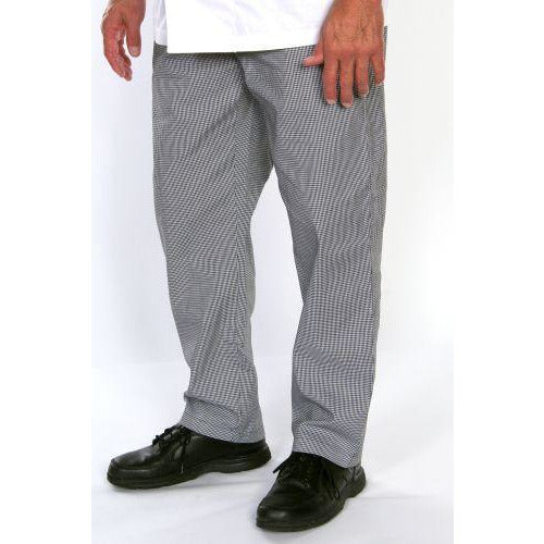 Chef Revival P004HT Relaxed Fit Chef Pants, Houndstooth