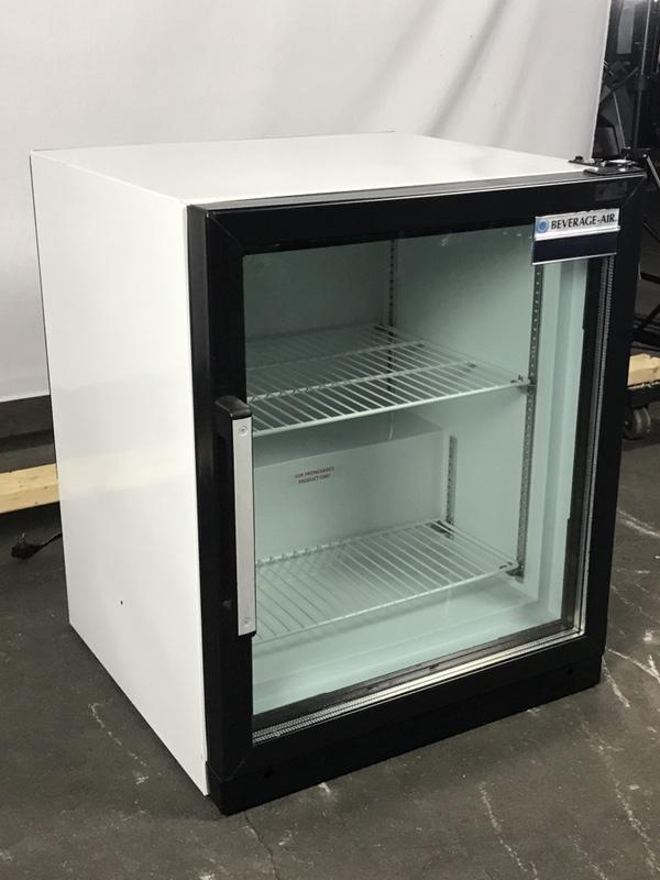 Beverage Air CF3HC-1-W Countertop Display Freezer, 1 Glass Door