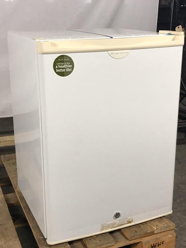 Frigidaire FRC03L2DW1 Mini Refrigerator w/ Small Internal Freezer