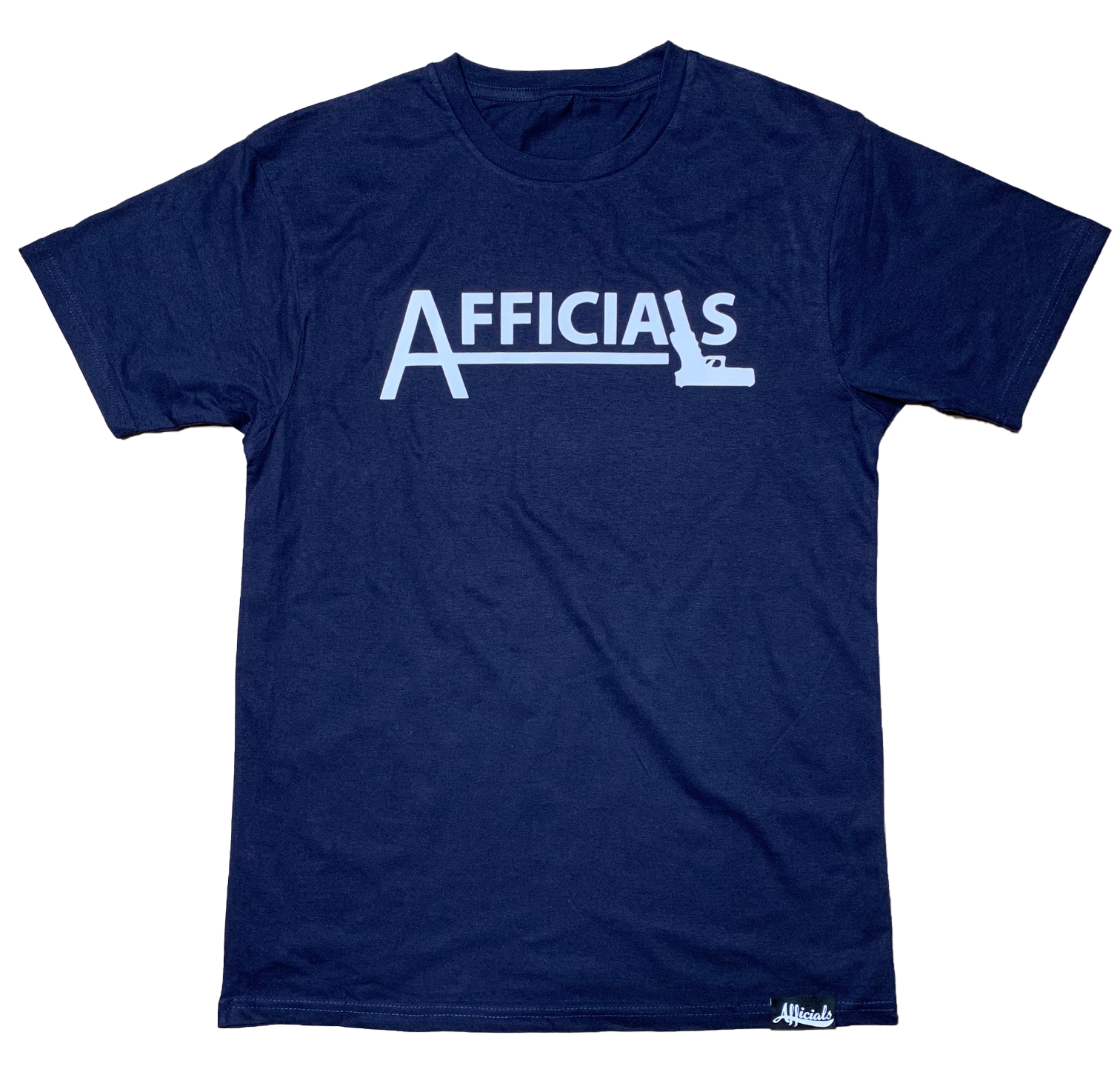 "Afficials ""40"" Tee NAVY/WHITE"