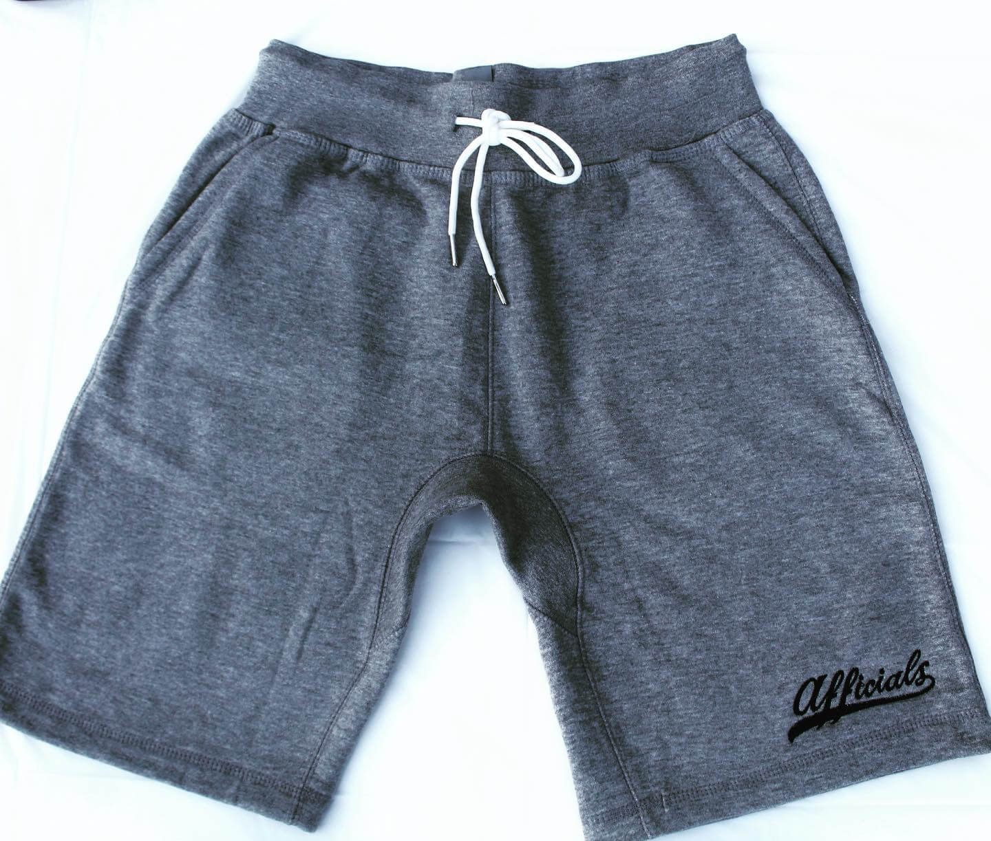 Afficials Exclusive Sweat Shorts GRAY/BLACK