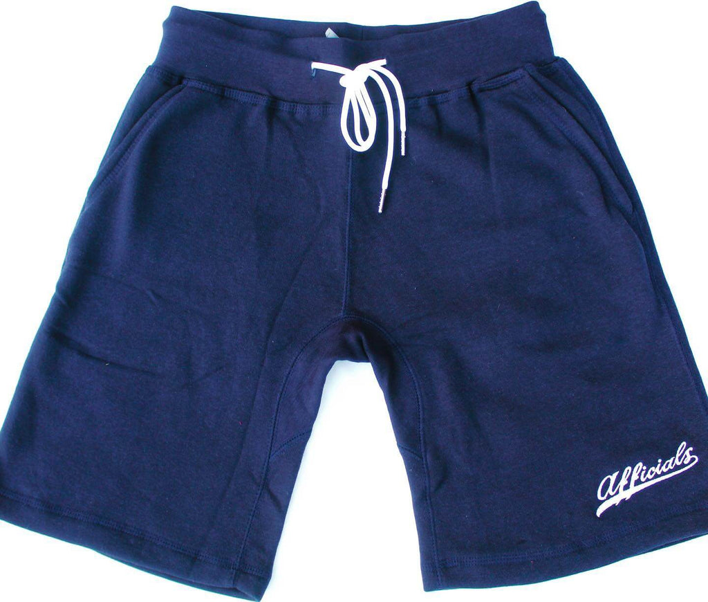 Afficials Exclusive Sweat Shorts NAVY/WHITE