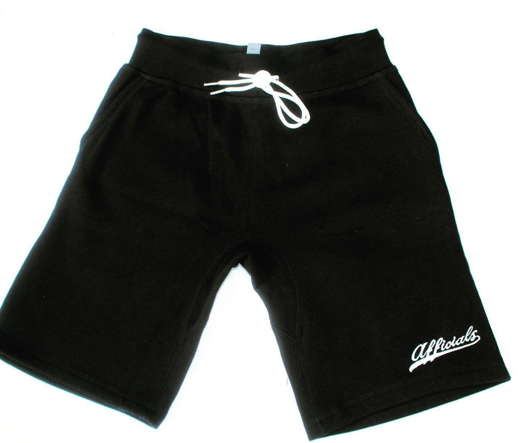 Afficials Exclusive Sweat Shorts BLACK/WHITE