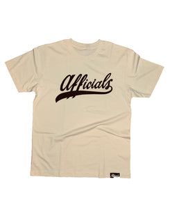 Afficials Exclusive Tee IVORY/BLACK