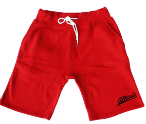 Afficials Exclusive Sweat Shorts RED/BLACK
