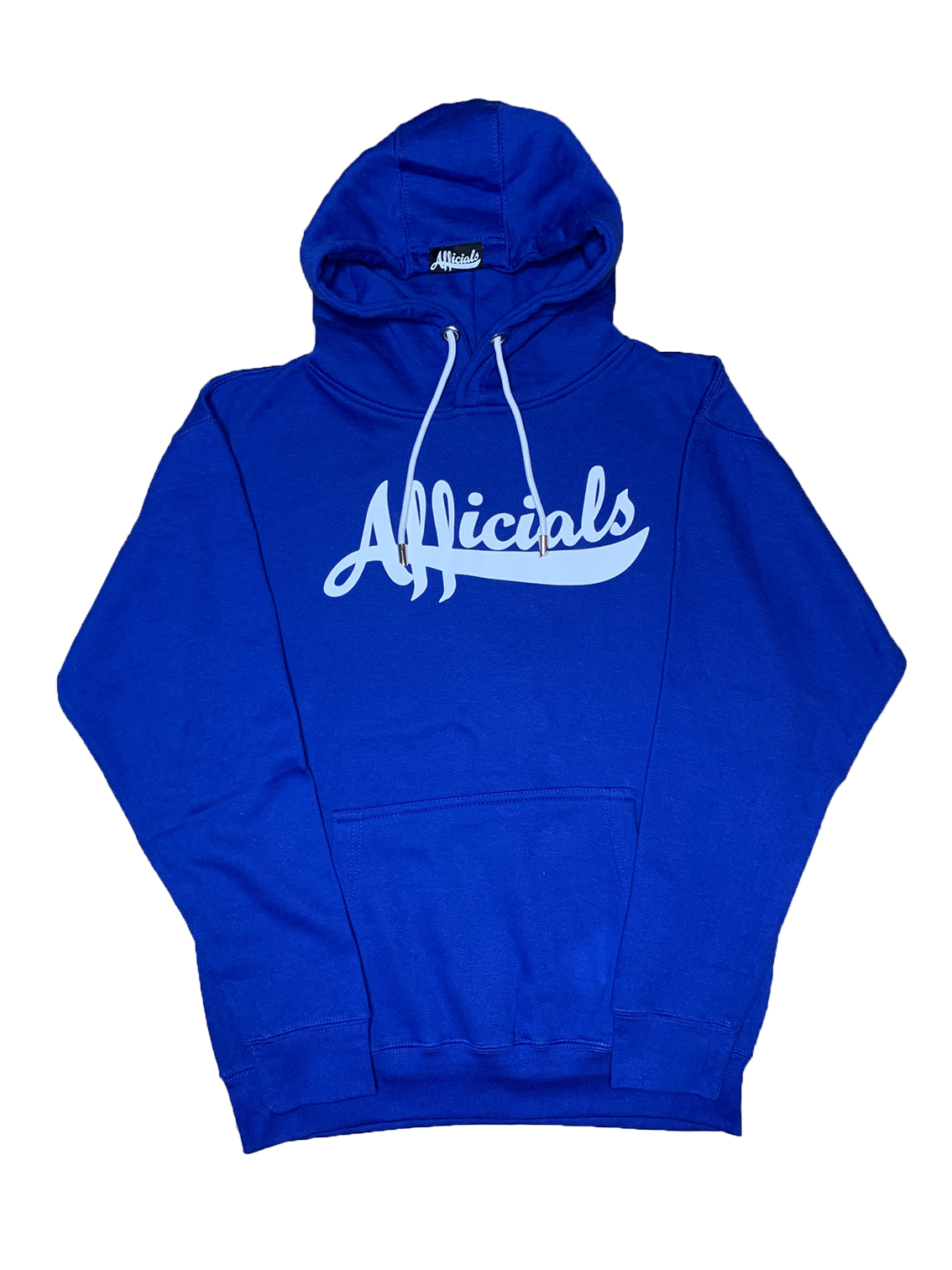 Afficials Signature Hoodie ROYAL BLUE/WHITE