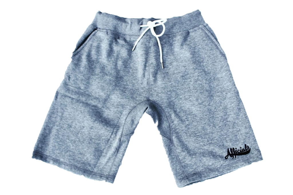 Afficials Signature Sweat Shorts GRAY/BLACK