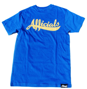 Afficials Signature Tee ROYAL BLUE/YELLOW (LIMITED EDITION)