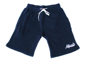 Afficials Signature Sweat Shorts NAVY/WHITE