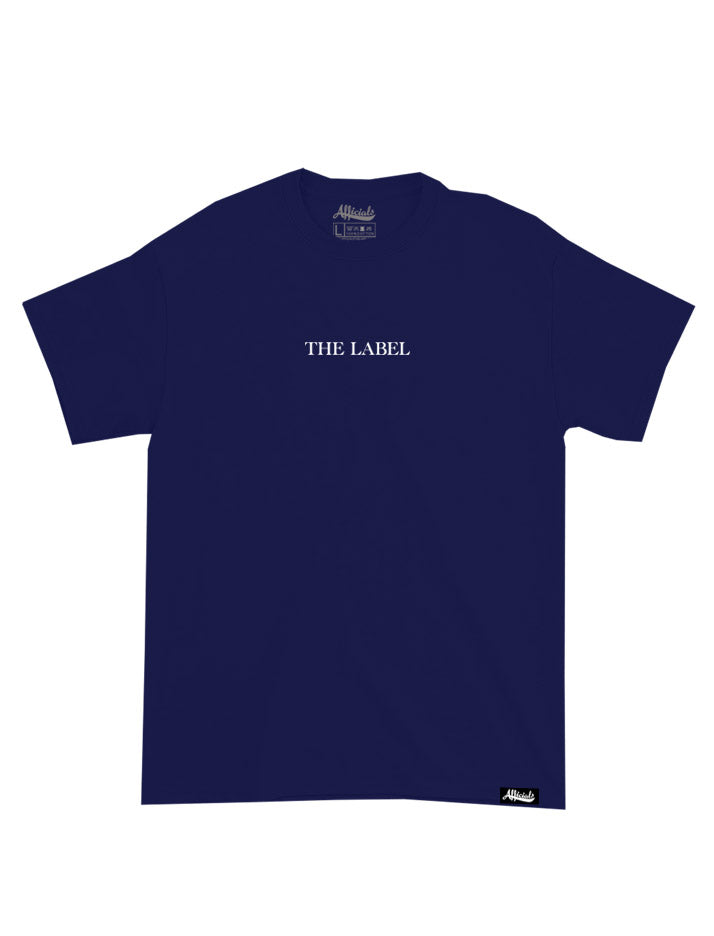 Afficials THE LABEL Tee NAVY/WHITE