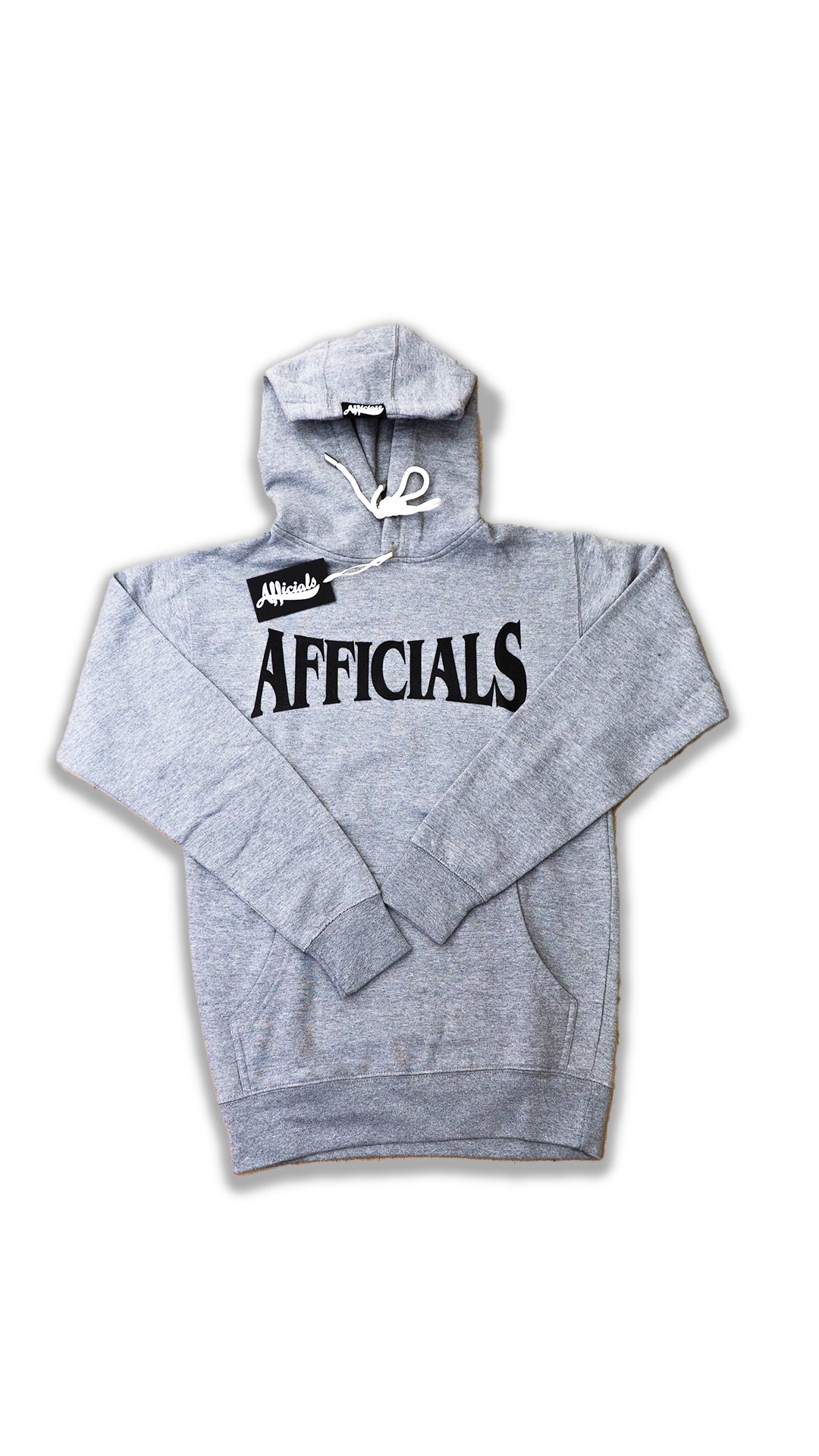 Afficials FInest Hoodie GRAY/BLACK