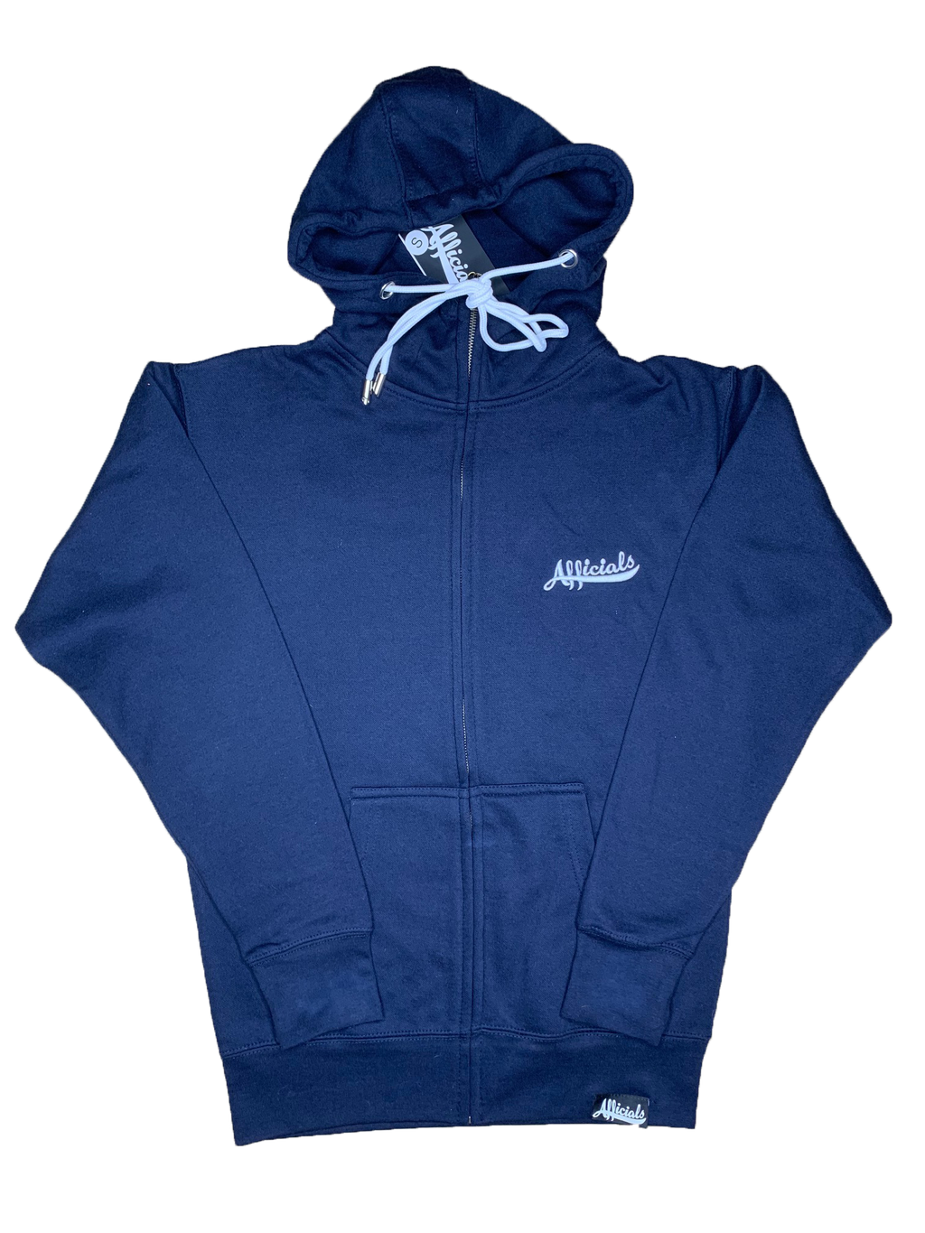Afficials ZIp-Up Hoodies NAVY/WHITE