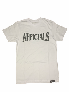 Afficials Finest Tee WHITE/BLACK