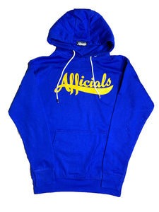 Afficials Signature Hoodie ROYAL BLUE/YELLOW