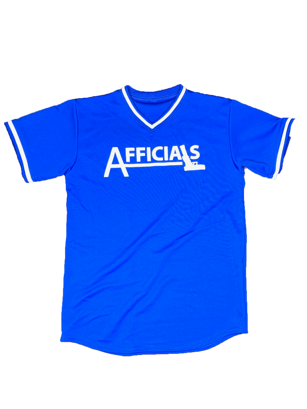 "Afficials ""40"" Jersey ROYAL BLUE/WHITE"