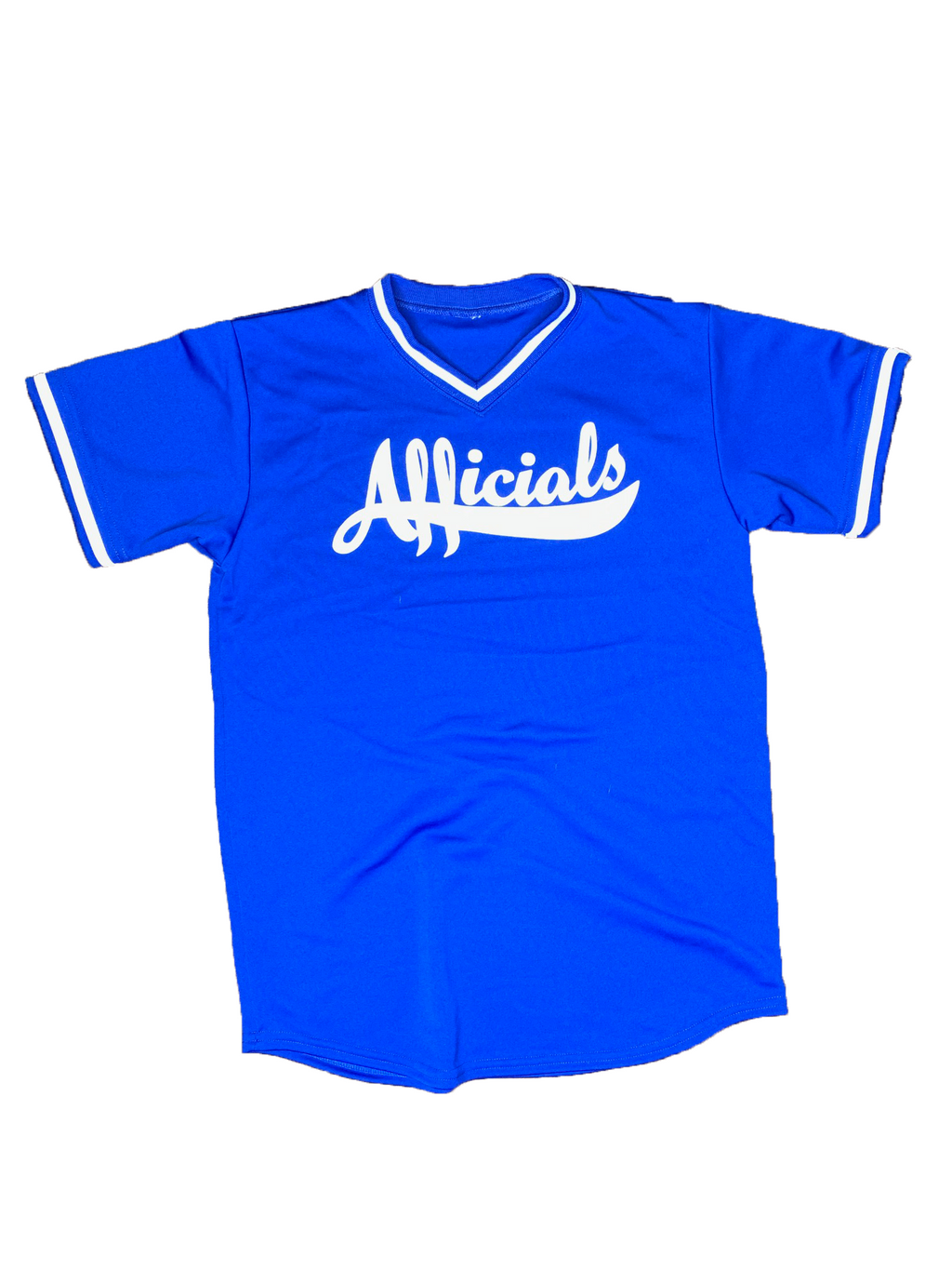 Afficials Signature Jersey ROYAL BLUE/WHITE