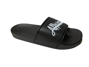 Afficials Slides BLACK/ WHITE