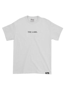 Afficials THE LABEL Tee WHITE/BLACK