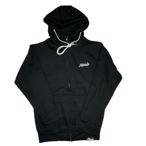 Afficials Zip-Up Hoodie BLACK/WHITE