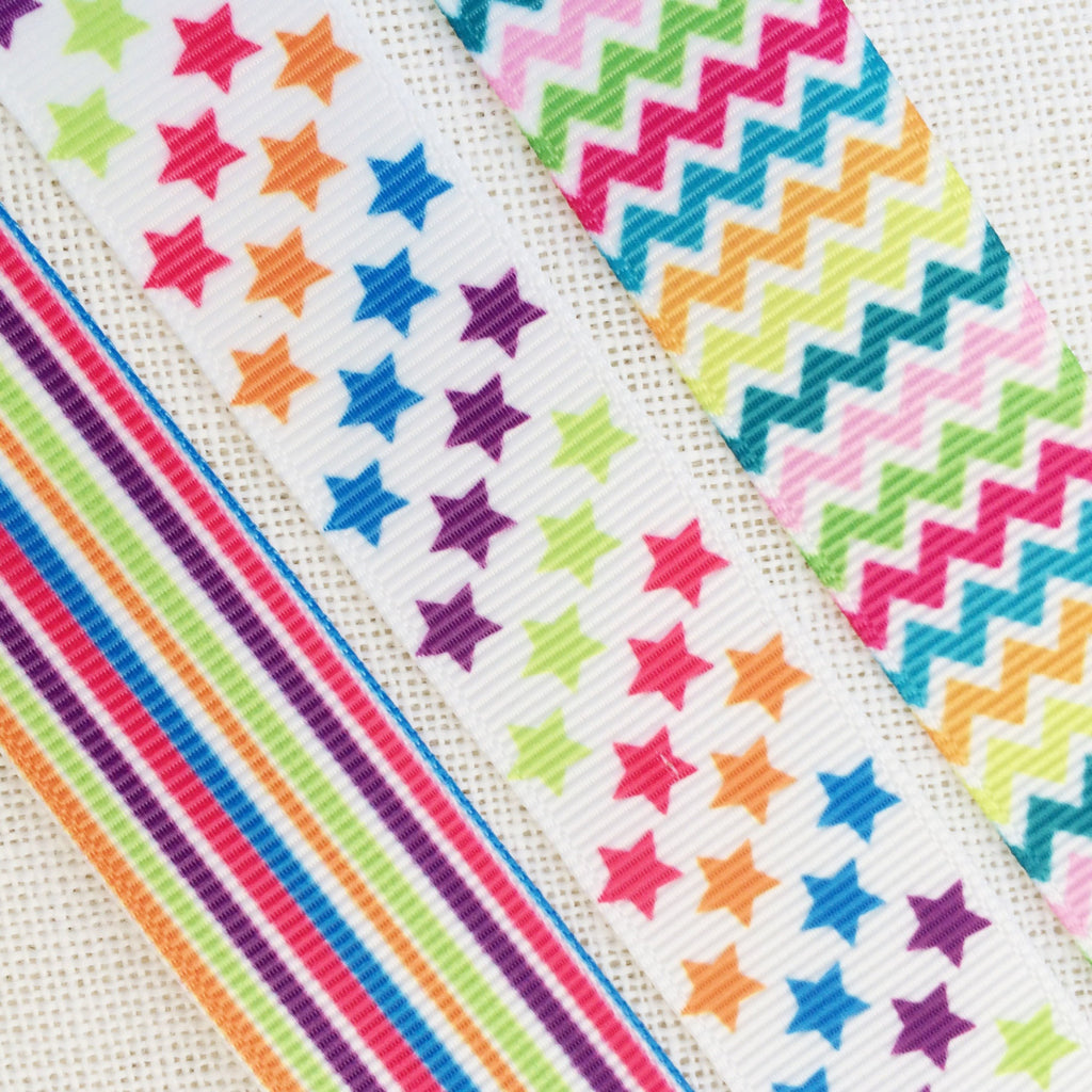 Rainbow Ribbon Collection - StitchKits Crafts