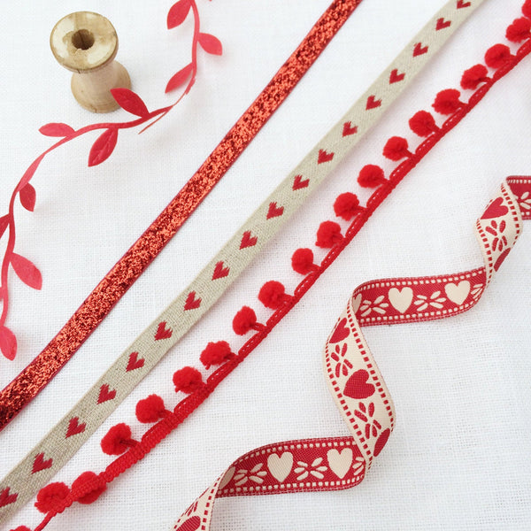 Red Heart ribbon collection. - StitchKits Crafts