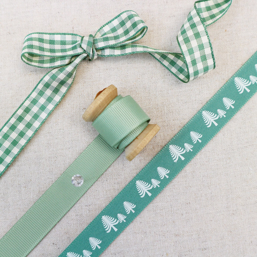 Forest Green Ribbon Collection - StitchKits Crafts