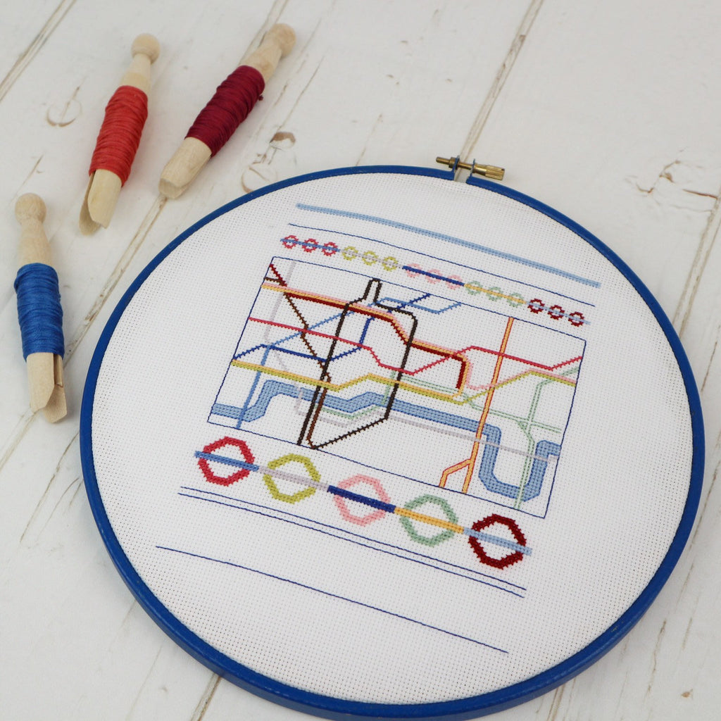London Cross Stitch Kit - StitchKits Crafts